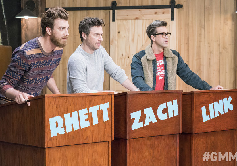 LOL! Zach Braff Plays 'Guess That Laugh' on 'Good Mythical Morning'