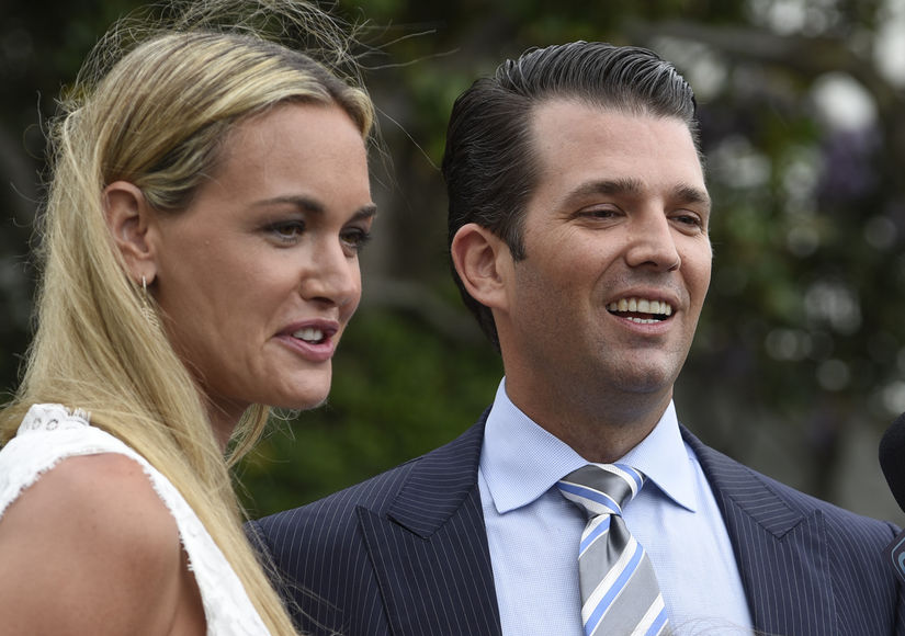 Vanessa Trump Likes Estranged Hubby Donald Trump Jr.'s Tweet Amid Affair  Talk