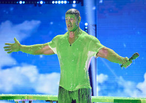 Backstage with John Cena at the Kids' Choice Awards