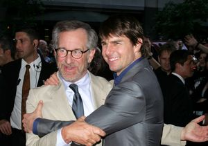 Steven Spielberg Dishes on Tom Cruise's Surprise 'Ready Player One' Set…