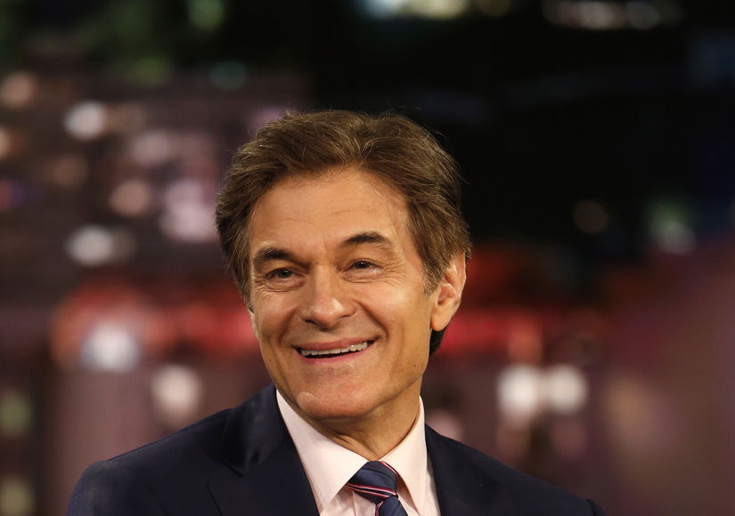 Dr. Oz Reveals His Secrets to Great Sleep and How to Get 10,000 Steps Per Day