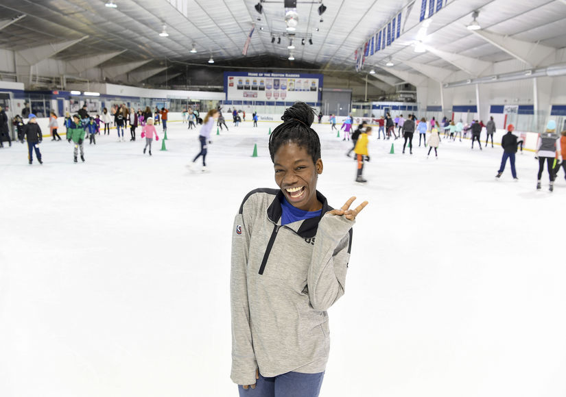 Speedskater Maame Biney Dishes on Plans for the 2022 Winter Olympics