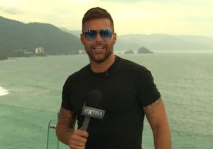 'Extra' Goes Behind the Scenes of Ricky Martin's 'Fiebre' Music Video