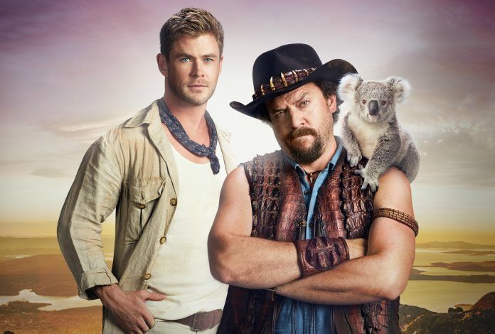 See Danny 'Dundee' McBride Quiz Chris Hemsworth on Everything Australia