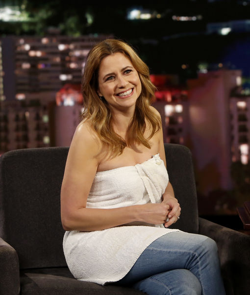 The Wardrobe Malfunction That Landed Jenna Fischer on TV in Just a Towel
