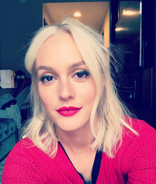 Pic! Leighton Meester Goes Platinum Blonde