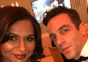 Mindy Kaling Tears Up Over B.J. Novak
