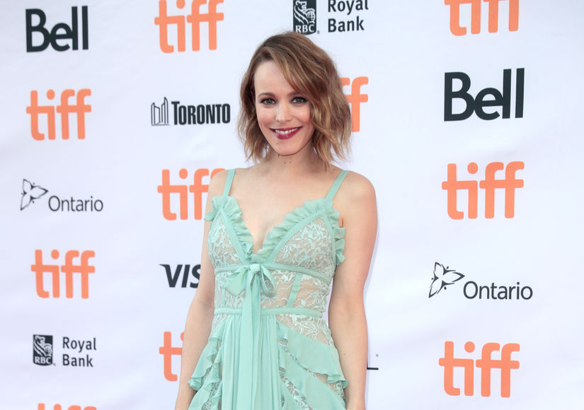 rachel mcadams opens up about her son for the first time extratv com
