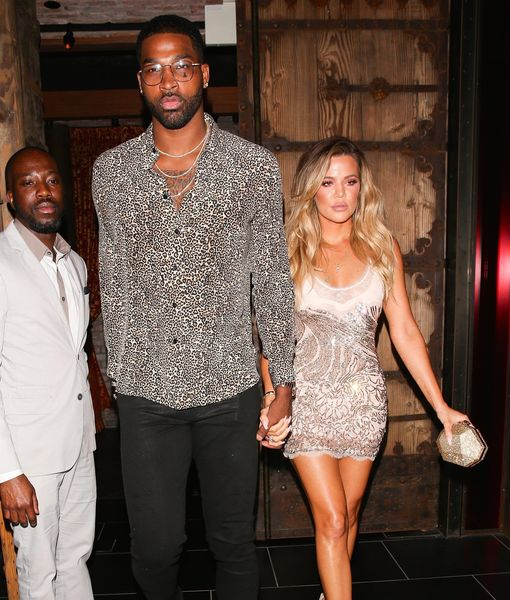 Caught Kissing? Tristan Thompson Accused of Cheating on Khloé Kardashian