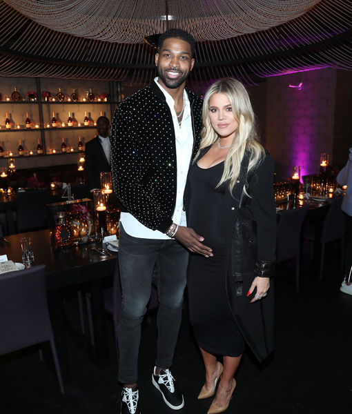 Video! Khloé Spotted with Tristan on First Public Outing Since Welcoming Baby True