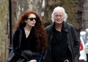 Jimmy Page Steps Out with Much Younger GF Scarlett Sabet