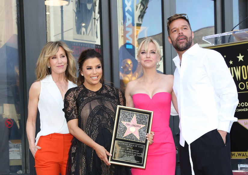 Eva Longoria's Star-Studded Walk of Fame Ceremony: 'It's Just an Amazing…
