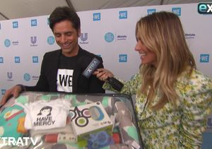 'Extra' Has a Gift for New Dad John Stamos