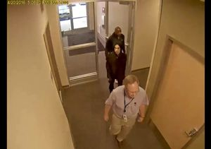 Surveillance Video: Prince Entering Doctor's Office