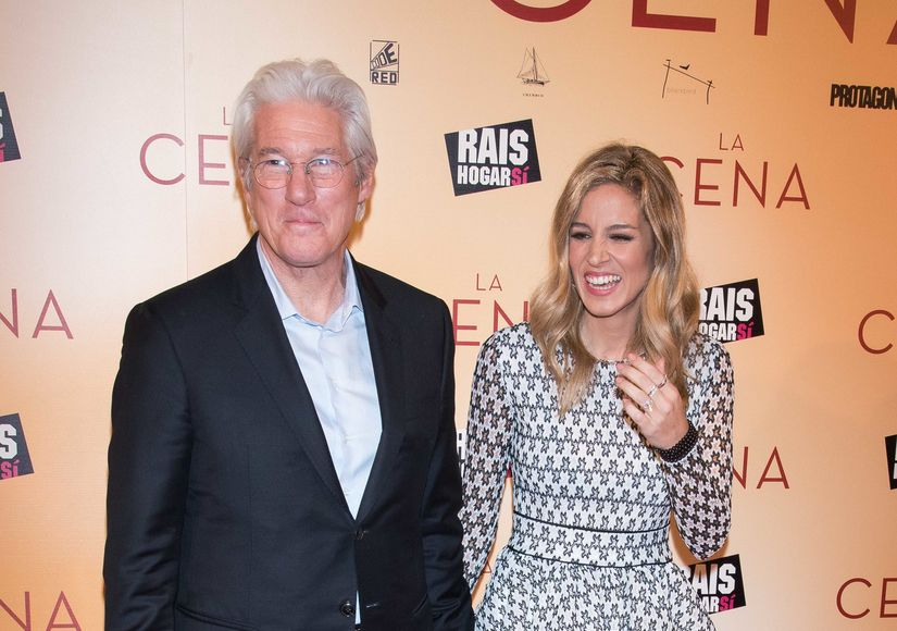 Richard Gere & Alejandra Silva Confirm Baby Rumors — See the Pic!
