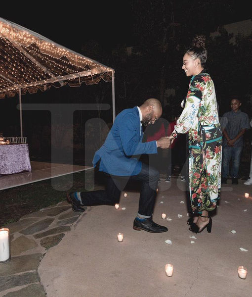 Derek Fisher & Gloria Govan Engaged!