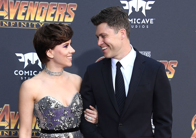Scarlett Johansson & Colin Jost Make Red-Carpet Debut, Plus: Her Priceless…
