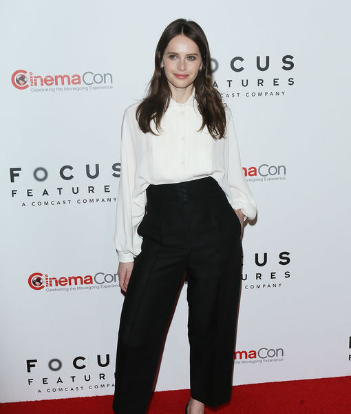 "LOL! Felicity Jones Explains Why Her Christmases Are Filled with ""A Lot of…"