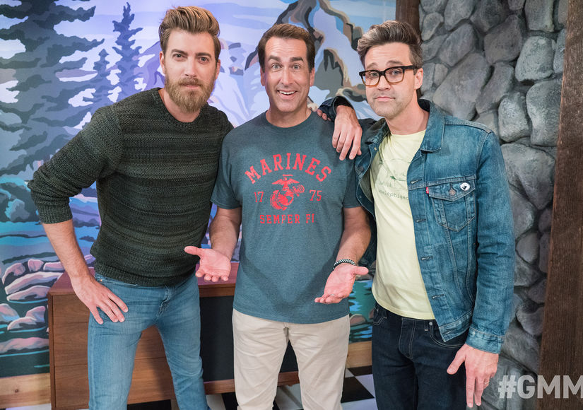 Rob Riggle Joins Rhett and Link for a Hidden Talent Guessing Game