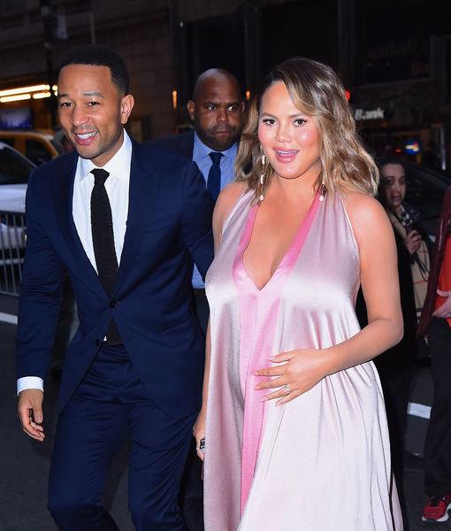 Inside Chrissy Teigen's Baby Shower... and John Legend & Kanye's Truce