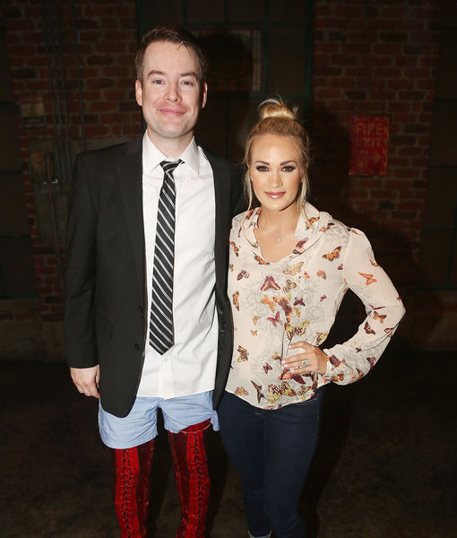 'American Idol' Winners Carrie Underwood & David Cook Meet Up on Broadway