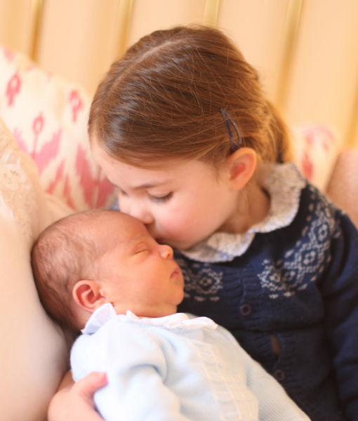 Prince Louis & Princess Charlotte Pics Are Here!