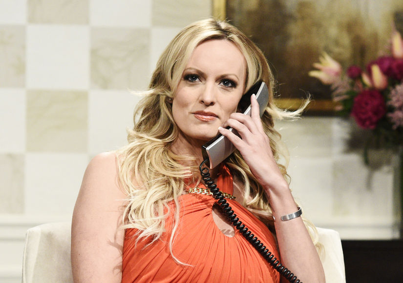 Stormy Daniels Warns Trump in Surprise Appearance on 'SNL'