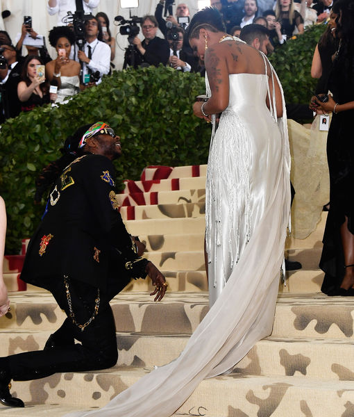 Engaged! 2 Chainz Proposes to Kesha Ward at Met Gala