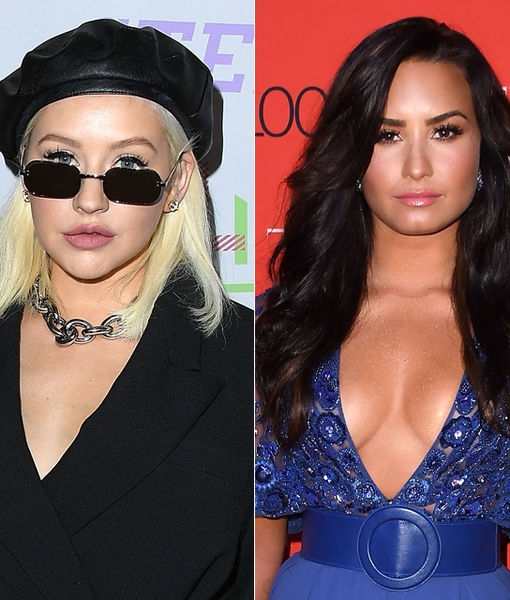 Christina Aguilera & Demi Lovato Set to Perform Together at Billboard Music…