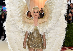 Katy Perry Makes the Perfect Angel at 'Heavenly' Met Gala