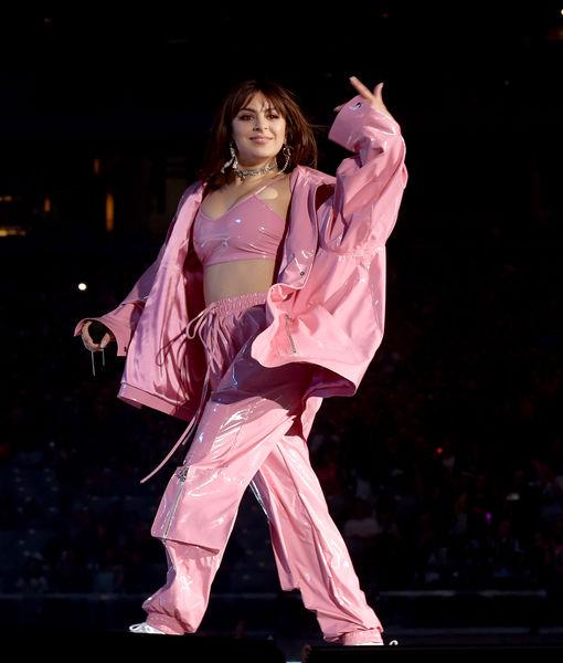 Boob Slip! Charli XCX Suffers Wardrobe Malfunction Onstage