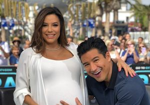 Will Mario Lopez Be a Godfather to Eva Longoria's Baby? See Her Clever…