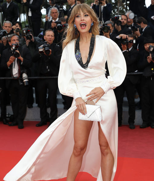 Petra Nemcova Suffers Major Wardrobe Malfunction on the Cannes Red Carpet