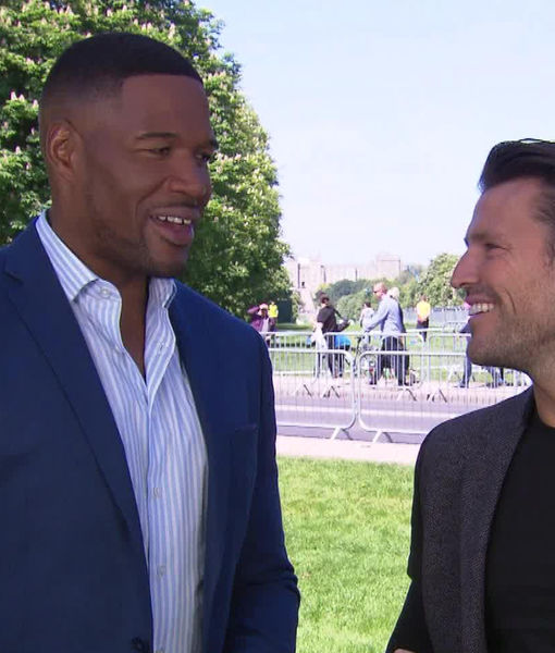 Michael Strahan Talks Royal Wedding Excitement!