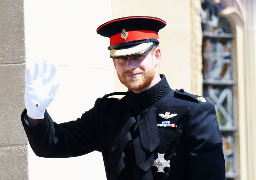 Two Ex-GFs Attended Prince Harry's Wedding, Plus: Surprise Guest!