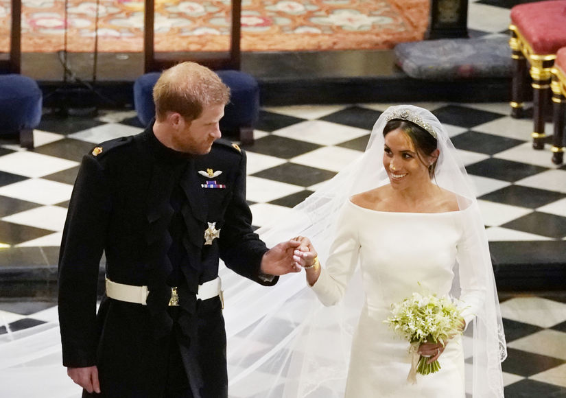 Royal Wedding Reception! See the Gorgeous Cake and the Menu