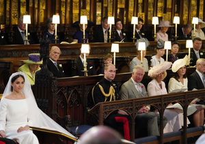Empty Seat at Royal Wedding Explained! No, It Wasn't for Princess…