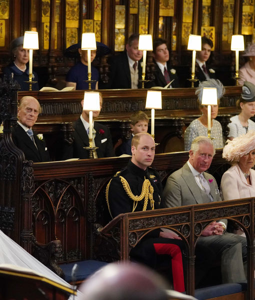 Empty Seat at Royal Wedding Explained! No, It Wasn't for Princess Diana