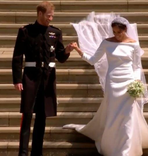 Royal Wedding Video! Watch Prince Harry & Meghan Markle Say 'I Do'