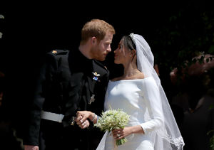 Awww! What Prince Harry Told Meghan Markle's Dress Designer