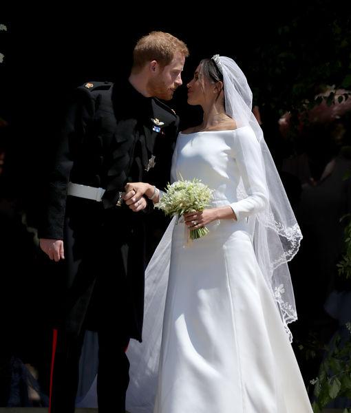 Awww! What Prince Harry Told Meghan Markle's Dress Designer