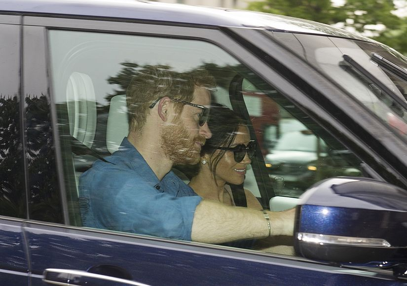 Where? Newlyweds Prince Harry & Meghan Markle Spotted After Royal Wedding Weekend