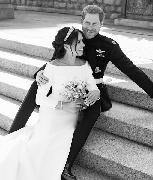 Prince Harry & Meghan Markle's Official Wedding Photos Released