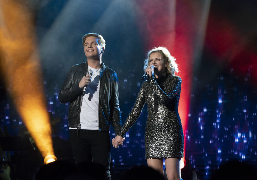 'American Idol' Contestants Caleb Lee Hutchinson & Maddie Poppe Are…