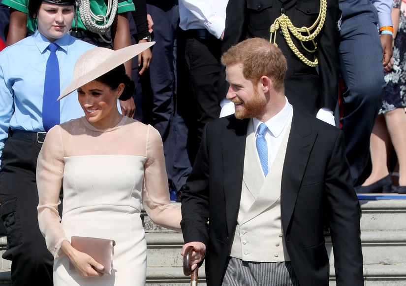 Prince Harry & Meghan Markle's First Royal Engagement as Married Couple