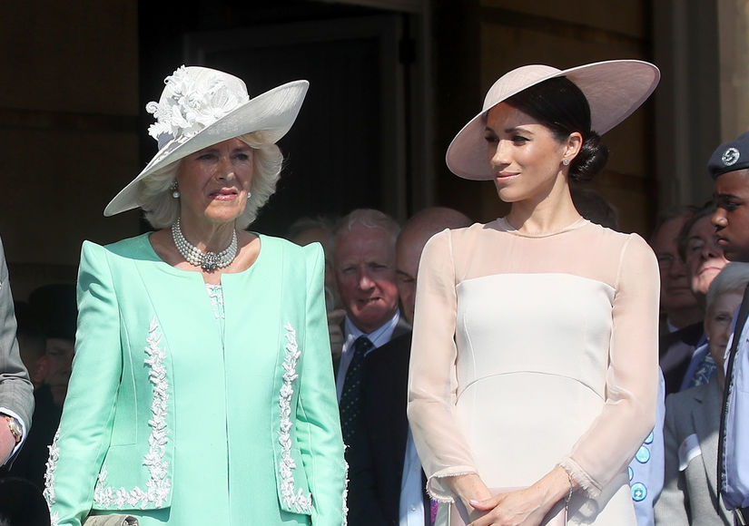 Camilla Parker Bowles Speaks on Meghan Markle's Family Drama