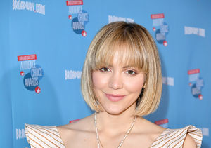 Katharine McPhee Debuts New Bob and Bangs!