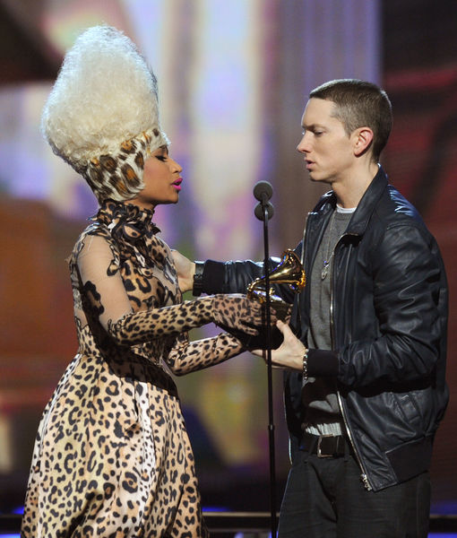 Eminem Reacts to Nicki Minaj Dating Rumors