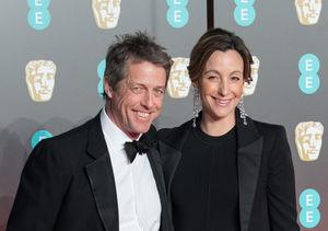 Hugh Grant & Anna Eberstein Tie the Knot