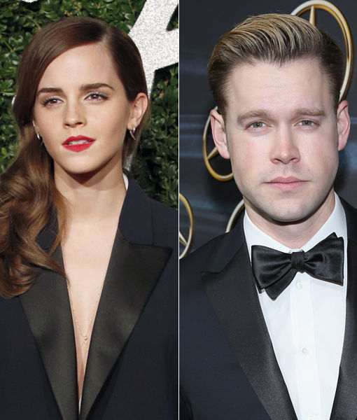 Back Together? Emma Watson & Chord Overstreet Caught Kissing
